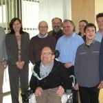 Gruppenbild mit schweizer Blindenverband