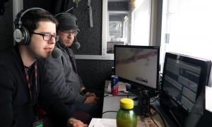 Die Kommentatoren in Kitzbühel
